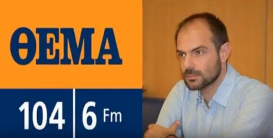 Παρέμβαση και προτάσεις Νίκου Μήλη σε σχέση με τις αντικειμενικές αξίες των Ακινήτων στο ΘΕΜΑ FM [ηχητικό]