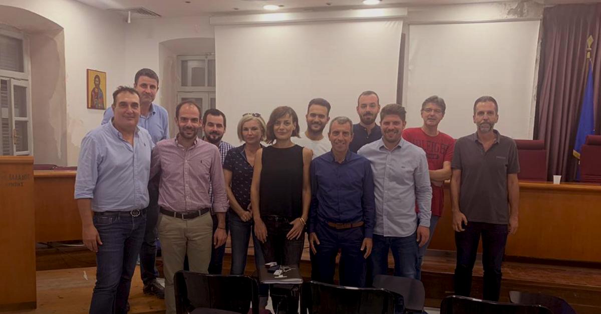 Συνάντηση στελεχών της ΔΗΣΥΜ στο Ηράκλειο της Κρήτης